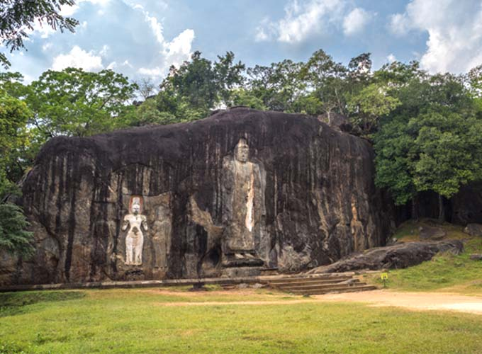 Day 9 - Head southwest and visit the famed Buduruvagala Temple on your way