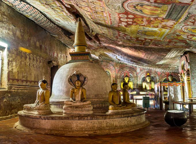 Day 2  -  Travel to Dambulla, which is your first stop of the cultural triangle