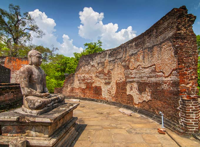 Day 4 - Cycle around Polonnaruwa and witness evocative ruins and religious site